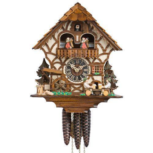 Часы с кукушкой HOENES-6756T (450 мм) [Дерево]