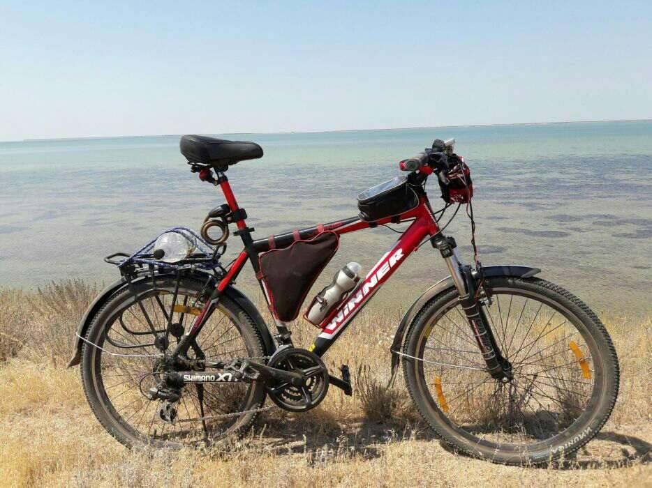 Велосипед Winner, Колеса - 26, оборудование Shimano в прекрасном обслуженном состоянии