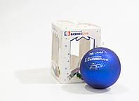 Стеклянные елочные шары с логотипом