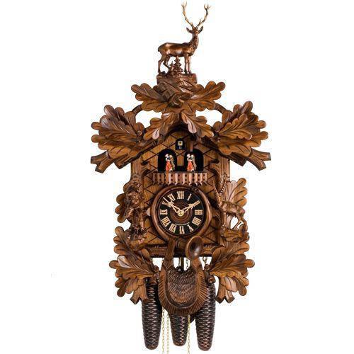 Часы с кукушкой HOENES-8682/5Tnu (620 мм) [Дерево]