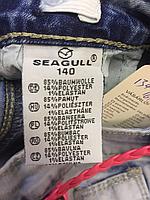 Джинсовые шорты для девочек оптом, Seagull, 134-164 рр., арт. CSQ-56907, фото 4