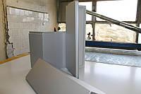Фасадная кассета угловая 170х160х160 матовая RAL, фото 1