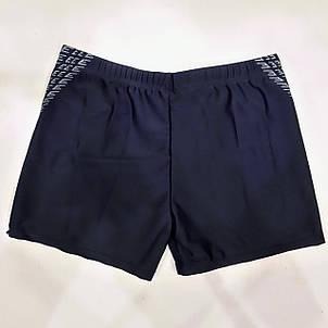 Плавки-шорты мужские 6019 Майкл синие на наши размеры 46 48., фото 2