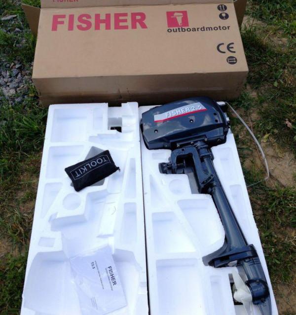 Лодочный мотор Fisher 2.5 фото