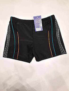 Плавки-шорты мужские 6019 Майкл черные на наши размеры 46-54., фото 2