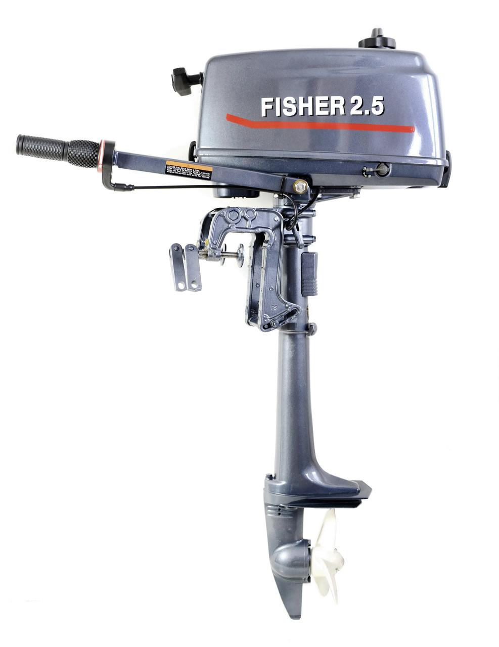 Лодочный мотор Fisher T2.5BMS