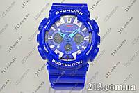 Спортивные часы с водозащитой Casio G-Shock Ga-120 Blue синие, фото 1