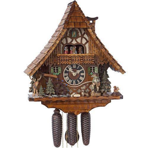 Часы с кукушкой HOENES-86209T (500 мм) [Дерево]