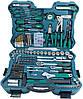 Набор инструментов профи Werkzeugkoffer 303 tlg (Германия) BRÜDER MANNESMANN, Пластиковый кейс