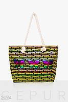 Цветная летняя сумка