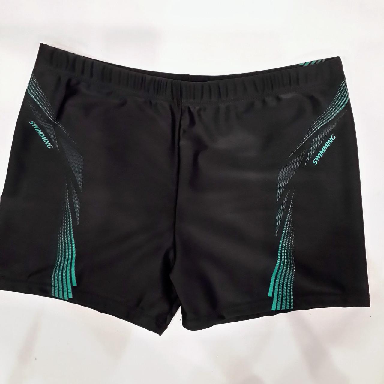 Плавки-шорты мужские Свимминг 6072  черные на наш  размер 46.
