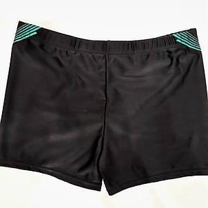 Плавки-шорты мужские Свимминг 6072  черные на наш  размер 46., фото 2