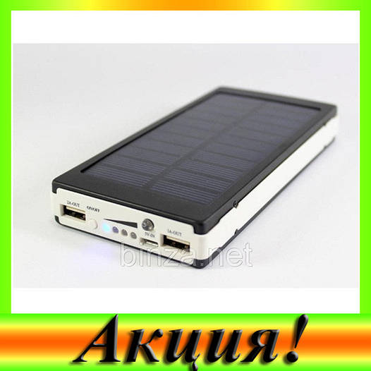 Внешний аккумулятор c LED Power bank SOLAR BIG 40000MAH!Акция