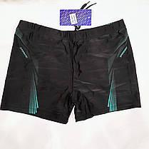 Плавки-шорты мужские Свимминг 6072  черные на наш  размер 46., фото 3