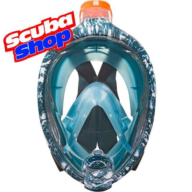 Полнолицевая маска Easybreath Oyster для снорклинга (Лимитированная серия)