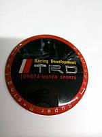 3D наклейки на колпаки и диски TRD TOYOTA металл