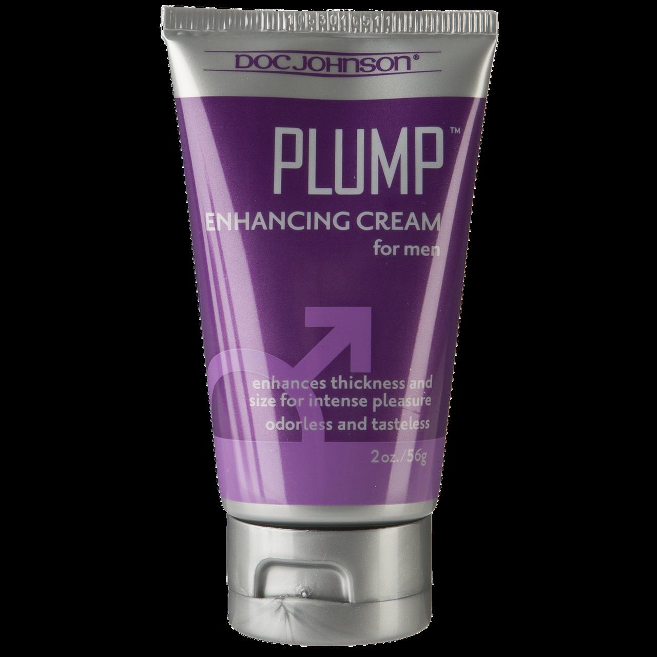 Крем для увеличения пениса Doc Johnson Plump - Enhancing Cream For Men (56 грамм)