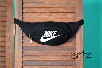 Поясная сумка Nike черного цвета