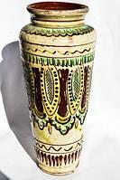 Керамічна ваза! Гуцульська Роспис! Косів!!!