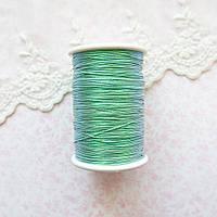 Металлизированная нить для вышивки, Индия, 0.5 мм - радужная олива