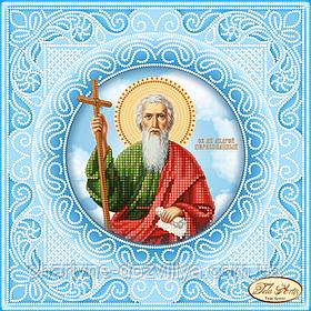 Схема для вышивки бисером икона Святой Апостол Андрей Первозванный