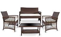 Набор садовой мебели TASOS коричневый, фото 1