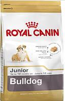 КОРМ ROYAL CANIN (РОЯЛ КАНИН) BULLDOG JUNIOR для щенков Бульдога до 12 месяцев 3 кг