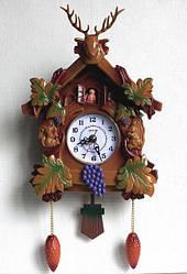 Настенные часы KK-2361 (260х220х80 мм) [Пластик]