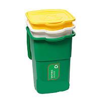 Набор мусорных контейнеров ECO 3