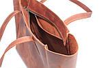 Кожаная сумка VS224 ginger 36х18,5х16 см, фото 4