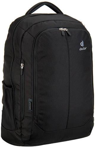 """Деловой, городской рюкзак с отделением под ноутбук 15,6"""" DEUTER GRANT, 80604 7000 черный"""