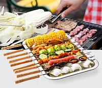 Шампура для овощей и море продукты 40см 12шт , фото 1