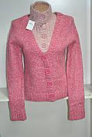 Стильный женский зимний свитер с длинным рукавом козий пух
