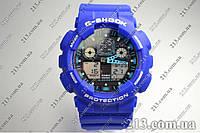 Часы Casio G-Shock Ga-100 Blue, фото 1