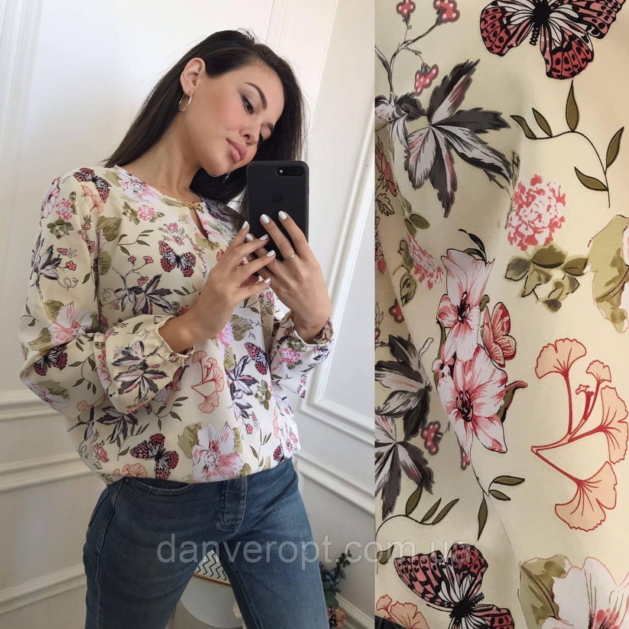 71917c0c05885 Блузка женская стильная размер батал 50-56 купить оптом со склада 7км  Одесса - DANVERopt