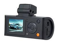 Видеорегистратор Car DVR X3000 mini GPS, две камеры, G-сенсор