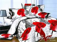 Комплект постельного белья PS-NZ2188 евро (TAG polisatin-117е)