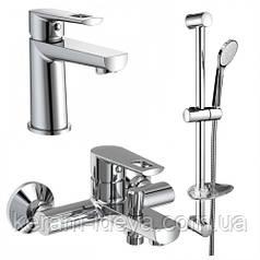 Набор смесителей для ванной комнаты Volle Benita 041036