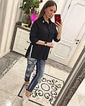 Женская стильная удлиненная блуза/рубашка (3 цвета), фото 8