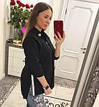 Женская стильная удлиненная блуза/рубашка (3 цвета), фото 10