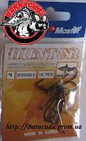 Крючки Surf Master Hunter 4 Плотва черный