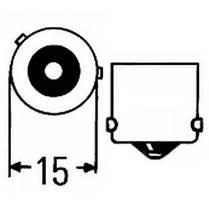 Светодиодная  лампа в указатель поворота, под цоколь 1156(PY21W)(BAU15S) 21*3535 9-30V Жёлтая, фото 3