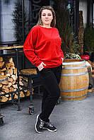 Спортивный женский костюм большого размера, фото 1