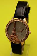 """Женские наручные часы на кожаном ремешке """"Парижанка"""""""