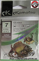 Крючки Kamatsu 7 K-001 Карась