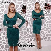 Вечернее платье из нежного гипюра ан-180371-1