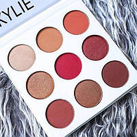 Набор теней KYLIE The Burgundy Palette 9 цветов