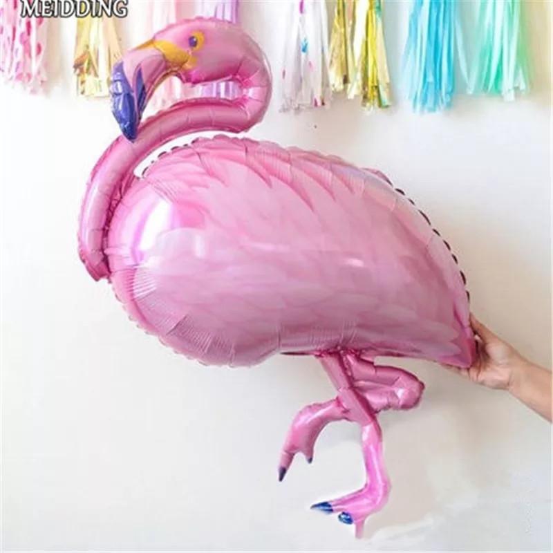 Воздушный шар гигант Розовый Фламинго Flamingo