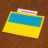 Нашивка шеврон прапор України 80х50мм, флаг Украины шеврон оптом купить, фото 1