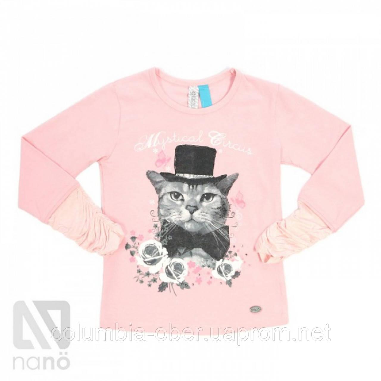 Блуза для девочки Nano F1422-01 Soft Rose. Размеры 92-142.